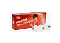 Double Happiness D40+ *** ITTF. 10-pack.