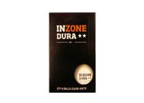 Inzone Dura ** bordtennisbollar. 6-pack